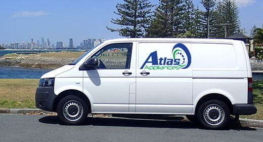 Appliance repairs, service, spare parts on the Gold Coast - Atlas